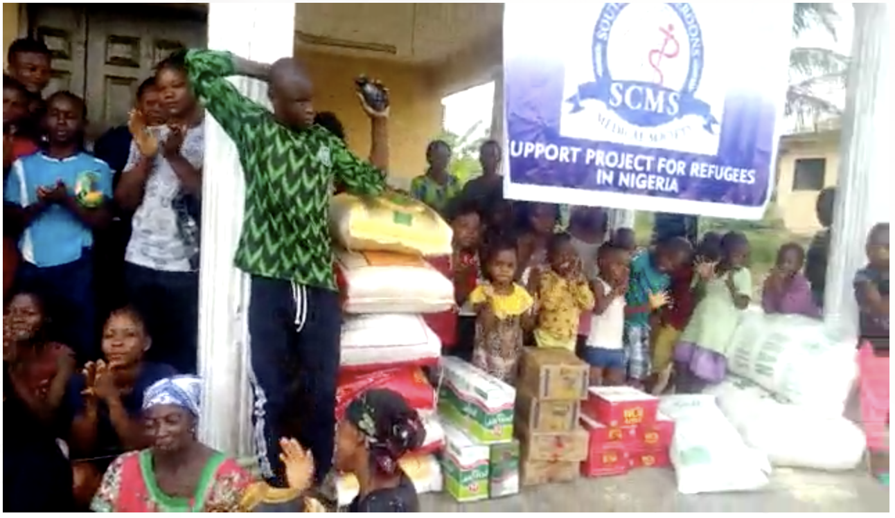 The SCMS Executes a Pilot Project for Humanitarian Support in Nigeria.
